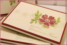 Stampin`Up! Birthday, Invitations card, Geburtstagswunsch, Flower Shop, Petite Petals, Embossing, Stiefmütterchen, Einladungskarten,