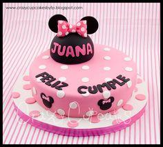 minnie mouse | Crazy Cupcakes: Torta Minnie Mouse para Juana
