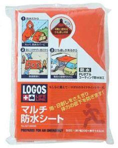 Amazon.co.jp   ロゴス(LOGOS) LLLマルチ防水シート 82100060   スポーツ&アウトドア 通販