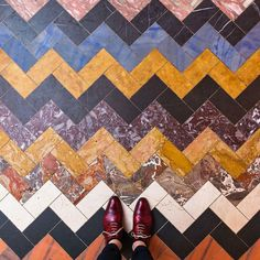 The Stunning Beauty Of London Floors Or Why You Should Look Down While…