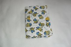 Cute Minion cotton print tablet cover/case for by MuffysCreations