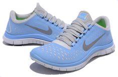 Populaire Nike Free 3.0 V4 En Ligne Femme Chaussures De Running Bleu Gris, EUR €62.09 | www.nikepascher.net