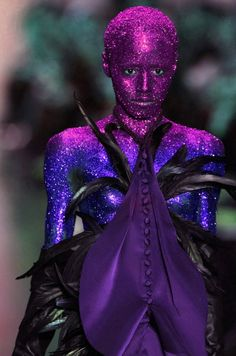 Avant-Garde, Futuristic Fashion, Face and body painting