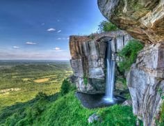 Lover's Leap at Rock City Can't wait to go here for 4th of July Weekend #kaprinski2015