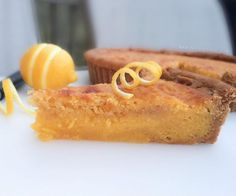 Tarte au Citron --- the way we learned from grand-mère.