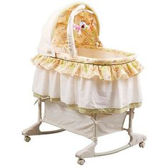 The bassinet that is going in our room when bean arrives