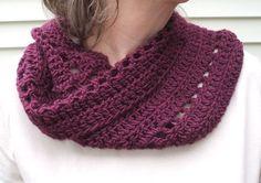 Crochet cowl free pattern from crochetbird
