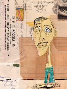 Collage 3.3 Lewis Rossignol illustration
