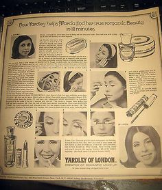 Vintage Yardley of London ad