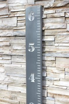 Carved Wooden Ruler Growth Chart for Children - Distressed on Etsy, $84.99