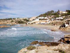 Cala Tarida en Islas Baleares