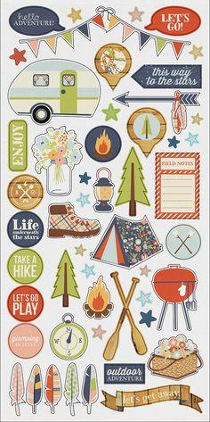 Fundamentals 6x12 Sticker | Simple Stories