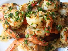 Great Garlic Shrimp Recipe - Quick & Easy Garlic Shrimp, ,