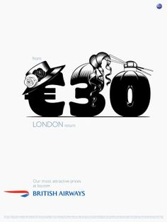 Advertising // British Airways. Our most atractive prices.