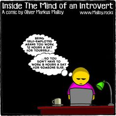 #kindle #book #books #selfemployed #workfromhome #funny #comics #quotes #funnyquotes #cartoons #memes #deepthoughts #introvert #introverts