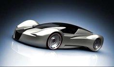 sleek futuristic car I like the mid section on the side