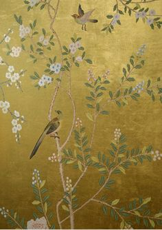 chinoiserie gold