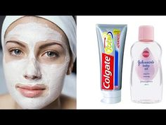Hello Every Body My Video Show About: Traditional Beauty Tips Skin Whitening Colgate Toothpaste and Babay Oil At Home Remedies Whitening Face Mask, Natural Skin Whitening, Tips For Pink Lips, Vaseline For Face, Colgate Toothpaste, Beauty Tips For Skin, Beauty Skin, Lighten Skin, Baby Oil