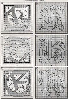 celtic Verdant alphabet 2 of 5