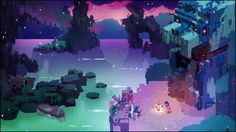The stunning Hyper Light Drifter is a masterful mix of exploration and combat.