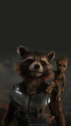 Rocket and Groot Guardians der Galaxis - Marvel - Marvel Avengers, Marvel Comics, Memes Marvel, Marvel Fan, Baby Groot, Gardians Of The Galaxy, Guardians Of Galaxy, Groot Guardians, Die Rächer