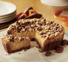 Pumpkin Cheesecake from The Swiss Colony®