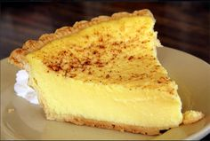 Old Fashioned Custard Pie.   I love custard pie. It is my all time favorite. I DESPERATELY have been looking for a recipe.... I HOPE this one works!