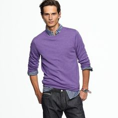 j. crew for men. a little color is good for the soul.