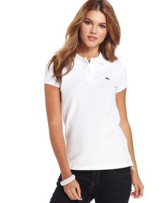 Lacoste Two-Button Classic-Fit Polo