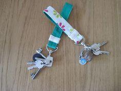 Aangezien ik er velen langs had zien komen op blogs en op Pinterest, hier dan mijn eigen variant van een sleutelhanger. Je kunt hem handig ...