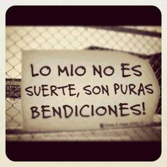 Lo mío son BENDICIONES!!!