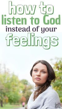 Do you know how to trust God, especially when your feelings are going haywire? Let's explore how feelings are often not based on reality. #feelings #emotionalhealth #spiritualhealth #God #Christianity #listentoGod