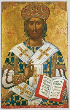 Religious Images, Religious Icons, Religious Art, Byzantine Icons, Byzantine Art, Anima Christi, Roman Church, Christ The King, Religious Paintings