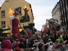 Macnas Parade 2011 Galway Ireland, Art Festival, Theatre, Times Square, Bucket, Spaces, Street, Theatres, Buckets