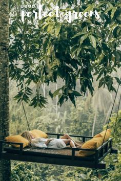 Relaxing at the Kamadalu Ubud Resort in Bali. 📷 by Aggie Lal. Bali Travel, Wanderlust Travel, Luxury Travel, Places To Travel, Travel Destinations, Travel Things, Hammock, Travel Inspiration, Beautiful Places