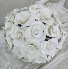 Fantasy flower rose bouquet, all created from latex balloons
