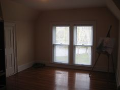 May favorite third floor bedroom with a view of the lake and check out that fire escape rope!