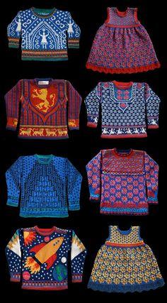Beautiful Knit Designs by Kerry Fletcher-Garbisch. | Art is a Way | Bloglovin'