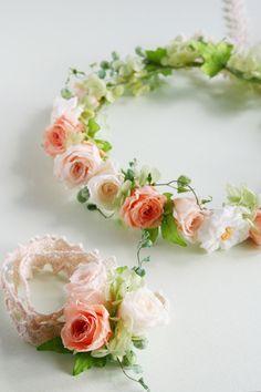 kukkaのウエディングフラワーABC 花冠 プリザーブドフラワー