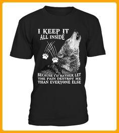 I KEEP IT ALL INSIDE - Wolf shirts (*Partner-Link)