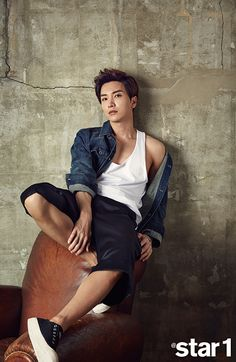 Lee Teuk - @ Star1 Magazine June Issue '15
