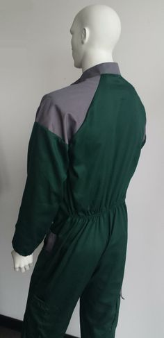Coverall - Back detail.