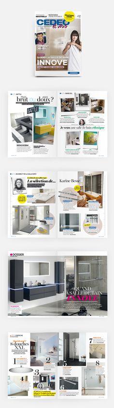 L'édition n°13 (printemps 2015) de Cedeo&Vous, le magazine des tendances de la salle de bain #OPS2