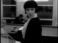 "Little Dragon - Please Turn - good song with delicious footage from the 1962 French film ""Vivre Sa Vie"" (My Life to Live) She's living like the world is watching even when they're all ignoring her..."
