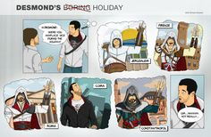 Assassins Creed Forgot to mention the Colonies. Assassins Creed Comic, Assassins Creed Odyssey, Assassin's Creed, Rage Comics Funny, Funny Images, Funny Pictures, Gaming, Leap Of Faith, Funny Star Wars