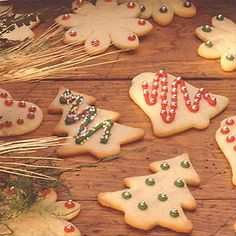 Buttery Cut-Out Cookies