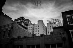 Street Photography  | The beautiful  Hotel Monteleone  towers over the French Quarter buildings. It is said the French Quarter begins in their lobby. I'd highly suggest stepping inside for a drink at the bar when travelling  to New Orleans.