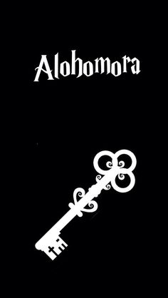 Alohomora wallpaper Harry Potter