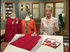 Convert ordinary sweatshirts into makeover masterpieces - YouTube. Nancy Zieman? who has not learn something about sewing with her? she is so good at teaching!