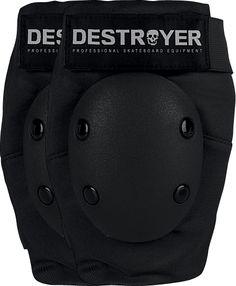 Destroyer Amateur Elbow Xs-Black/Black